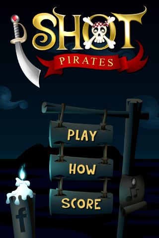 Screenshot iShot: Pirates